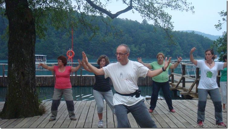 Croacia - Tai Chi en lagos de Plitvice - Cortesía Concha