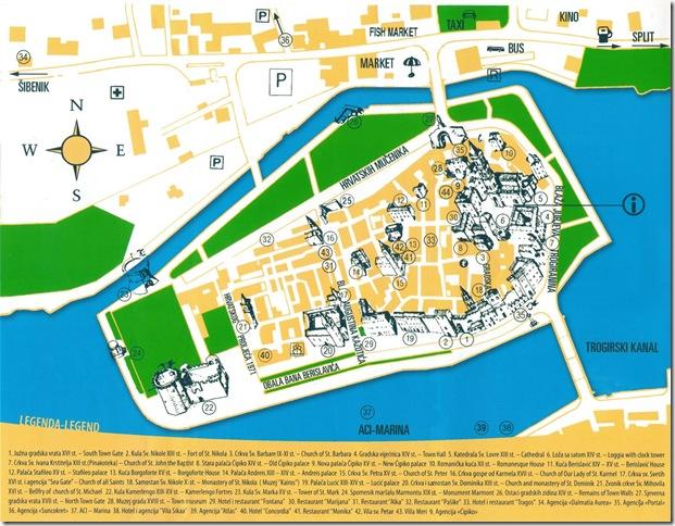 mapa de trogir - click para ver original